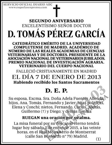 Tomás Pérez García